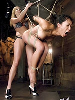 Tia Ling gets dominated by mistress madeline